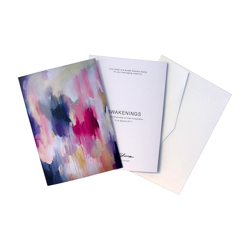 Awakenings Greeting Cards - Jo Stanes