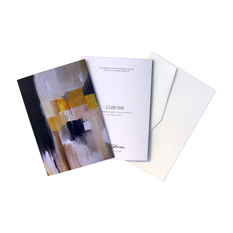 Cubism Greeting Cards