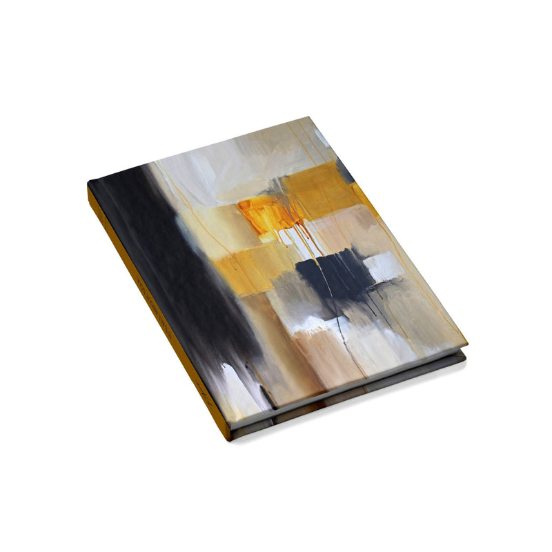 Cubism Hard Cover Journal / Visual Diary - Jo Stanes