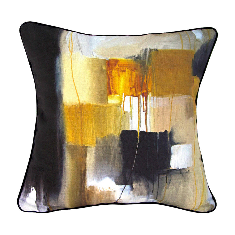 Cubism Linen Cushion