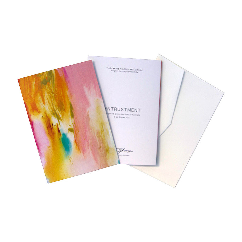 Entrustment Greeting Cards - Jo Stanes