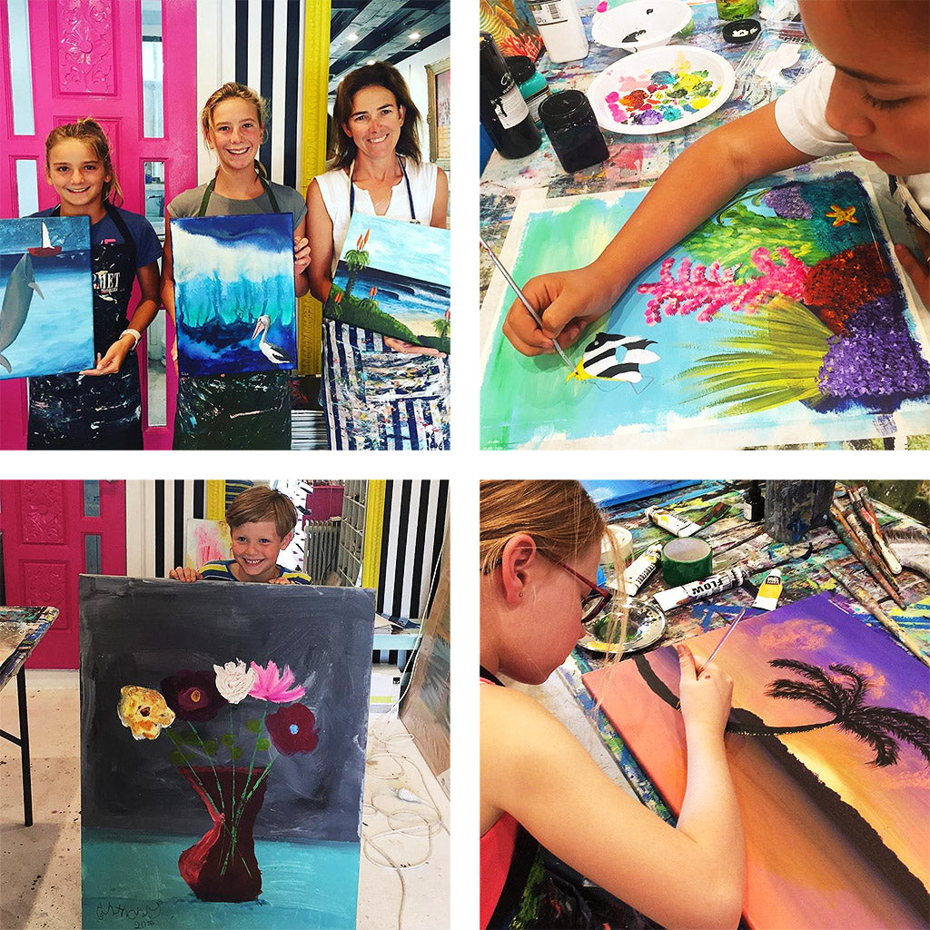 School Holiday Art Classes - Jo Stanes