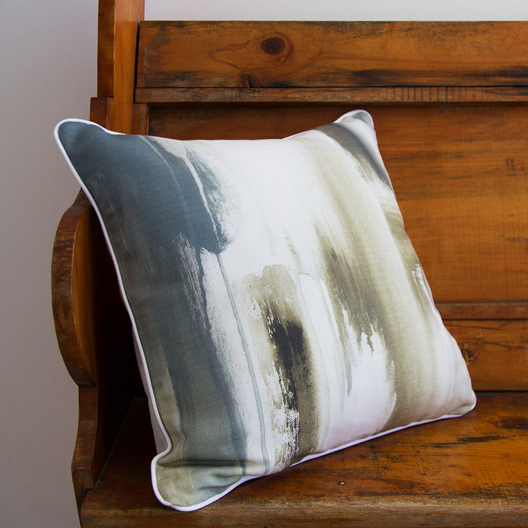Latte Linen Cushion - Jo Stanes