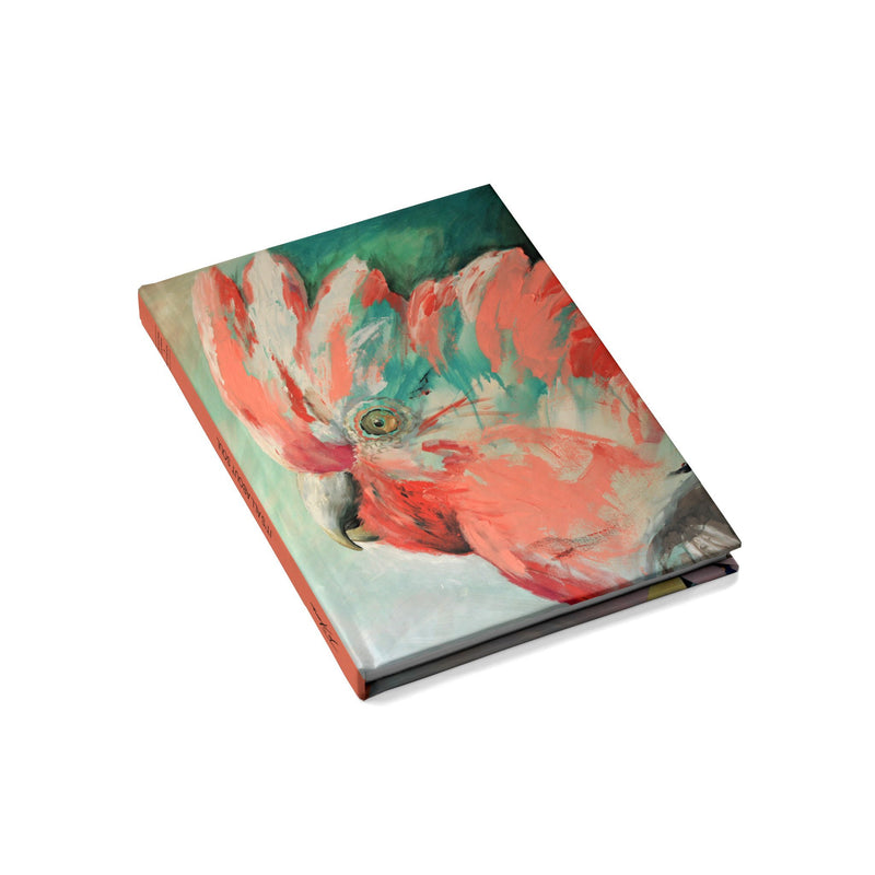 Pink Galah Hard Cover Journal / Visual Diary - Jo Stanes