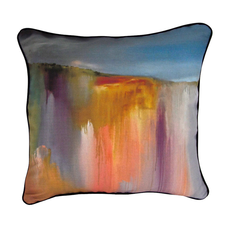 Storm Rolling In Linen Cushion