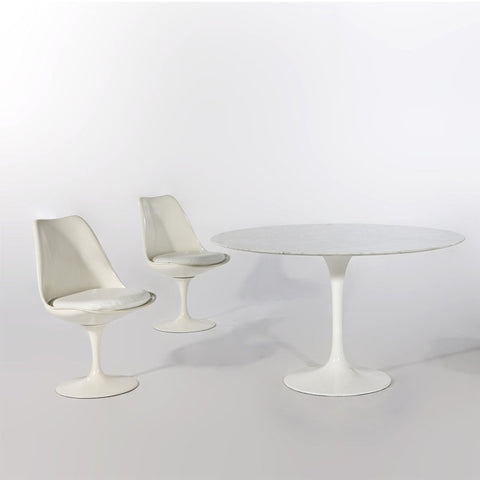 Jacob Marble Table by Picket and Rail