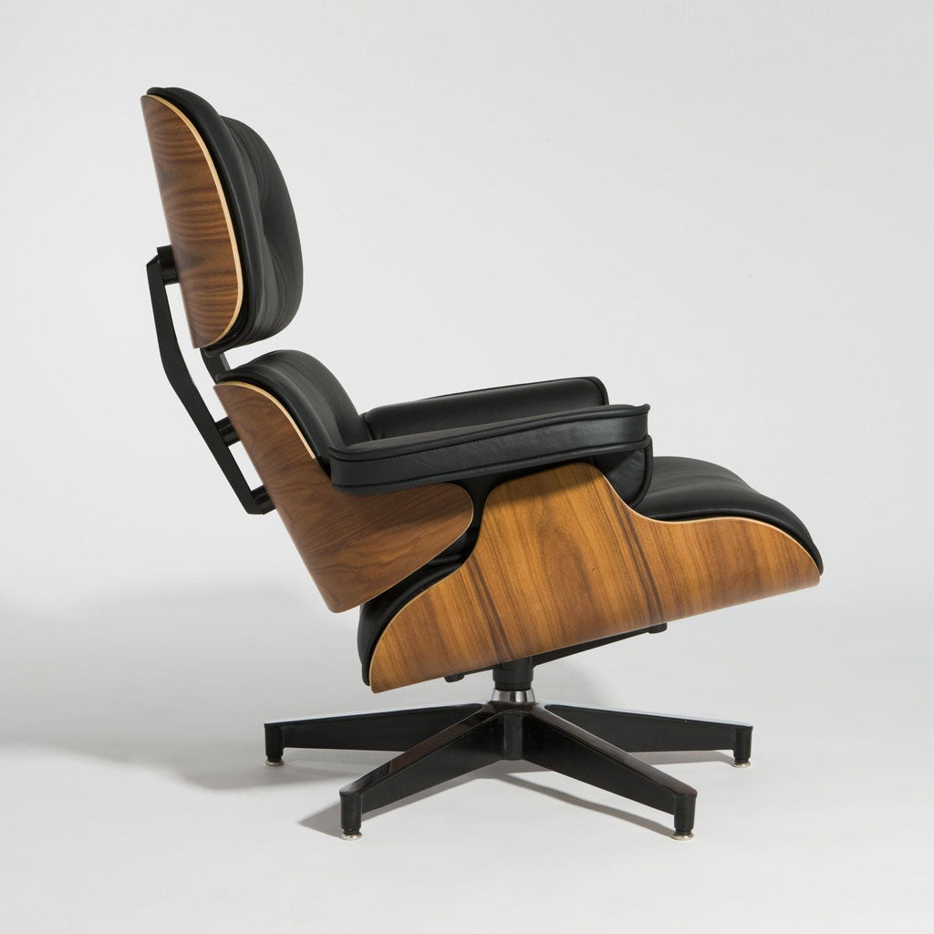 lounge chairs modern classic eames picket and rail
