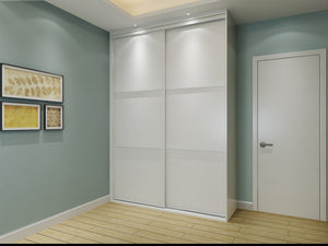 Custom Sliding-Door Wardrobe #11