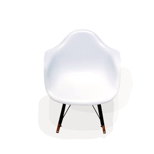 Maja Rocking Chair - White (CH16135)