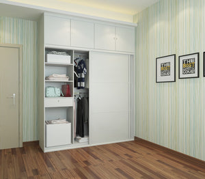 Custom Sliding-Door Wardrobe #12