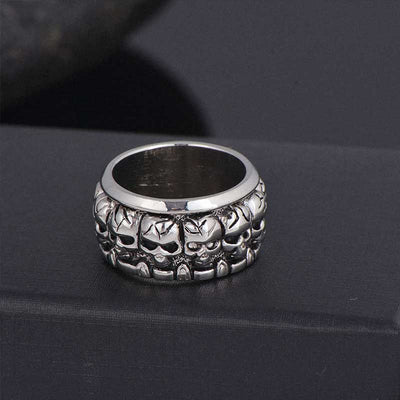 'Band of Skulls' Skull Ring