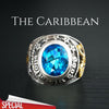 'The Caribbean' 925 Silver Ring