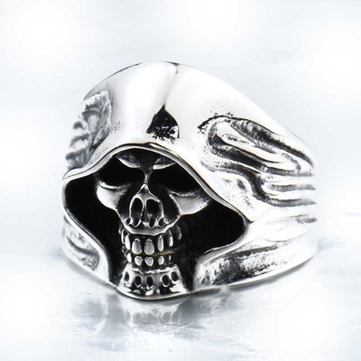 'The Dark Side' Skull Ring