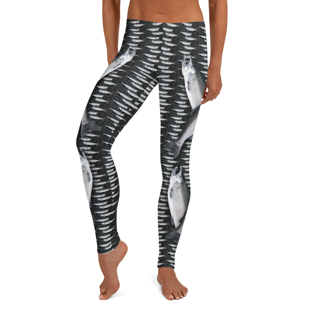 Coho Salmon 2 Leggings