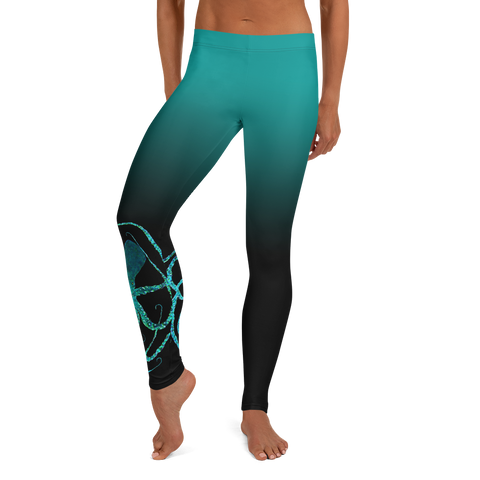 Frozen Huckleberry Leggings
