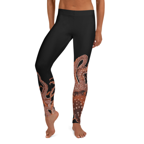 Crab Nebula 4 Yoga Leggings