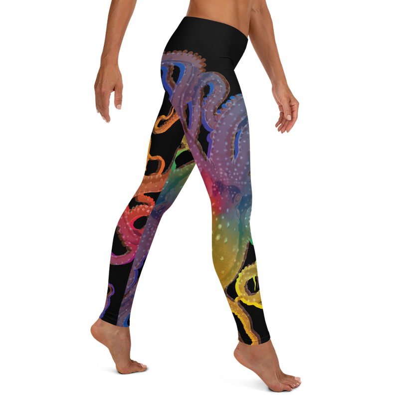 Octopus Rainbow Leggings