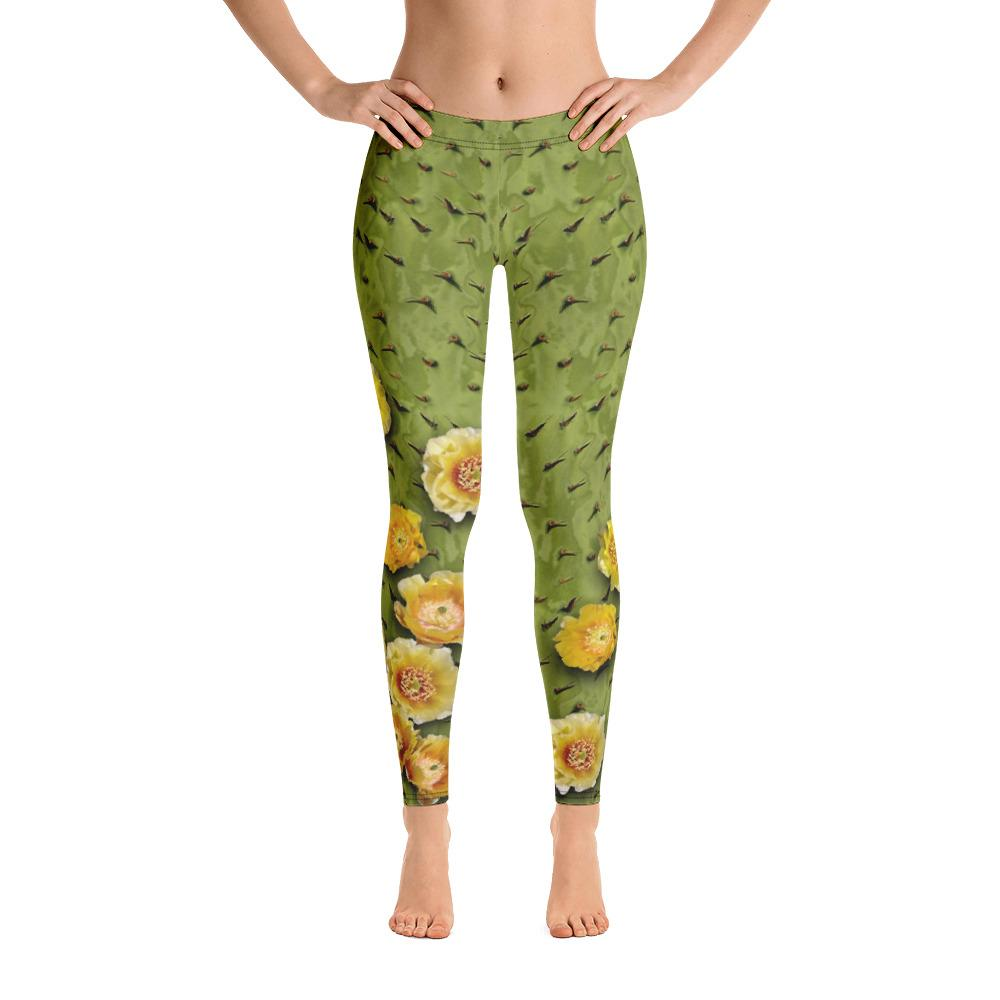 Cactus Prickly Pear 2 Leggings