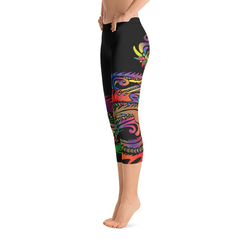 Dragon Capri Leggings