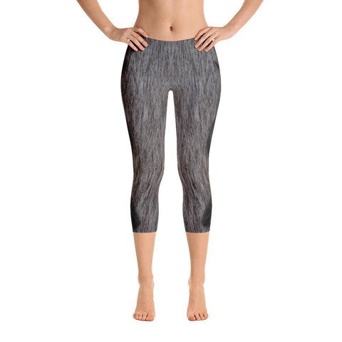 Greater Kudu 2 Capri Leggings