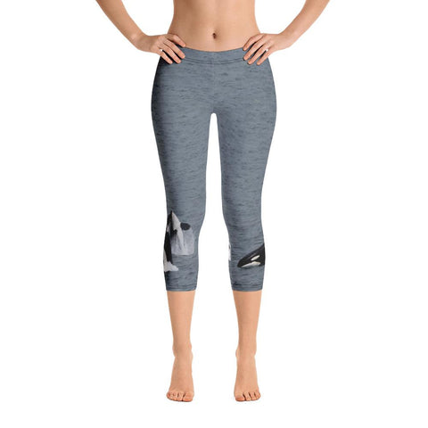 Milky Way Capri Leggings