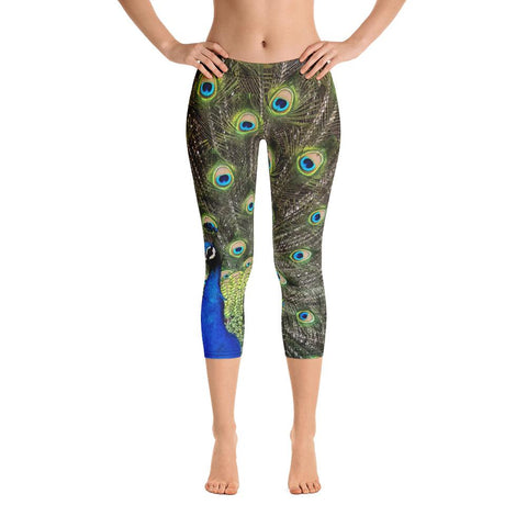 Wolf 2 Capri Leggings