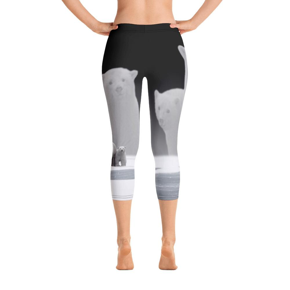 Polar Bear 2 Capri Leggings