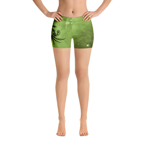 Slug Camo Yoga Shorts