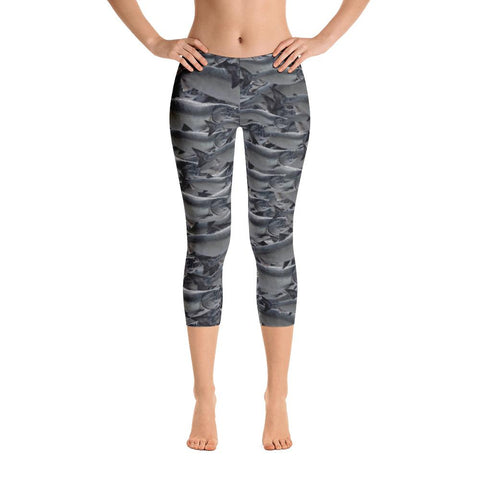 Sitka (Mt. Edgecumbe Volcano) Capri Leggings