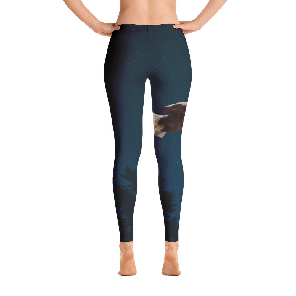 Bald Eagle Leggings - 57 Peaks