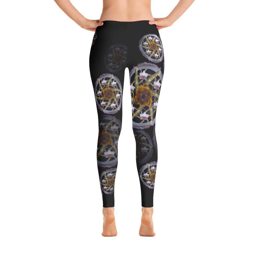 Branches of Kauai Mandala Leggings - 57 Peaks