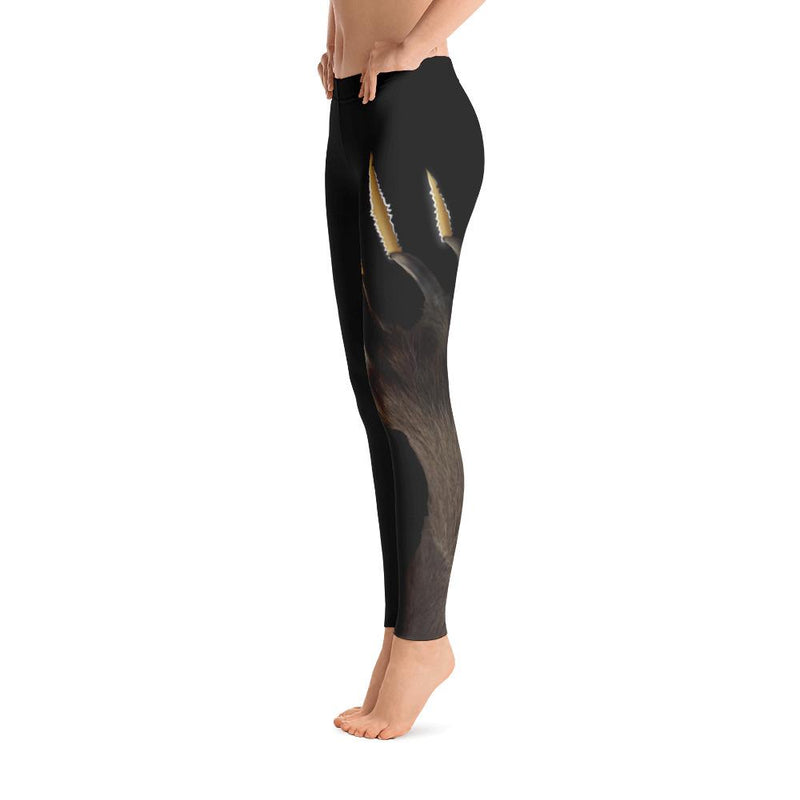 Brown Bear Paw Leggings - 57 Peaks