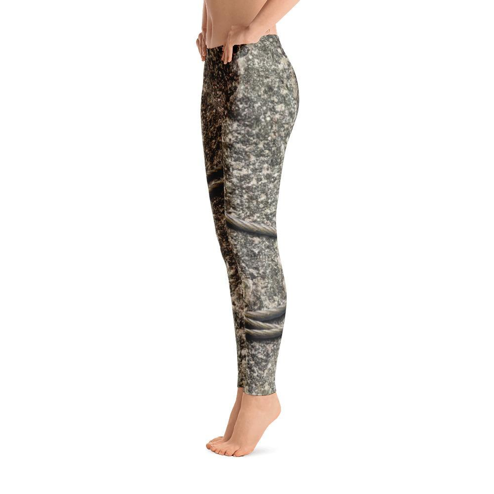 Cable and Stone Leggings - 57 Peaks