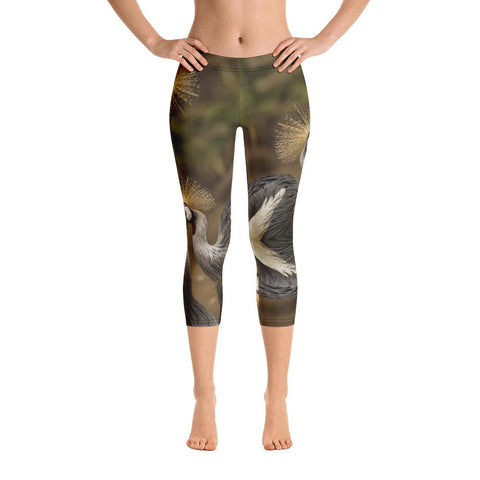 Siberian Tiger Capri Leggings