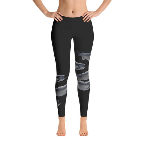King Salmon Yoga Leggings