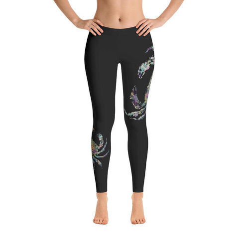 Sitka Blacktail Deer Skull Leggings