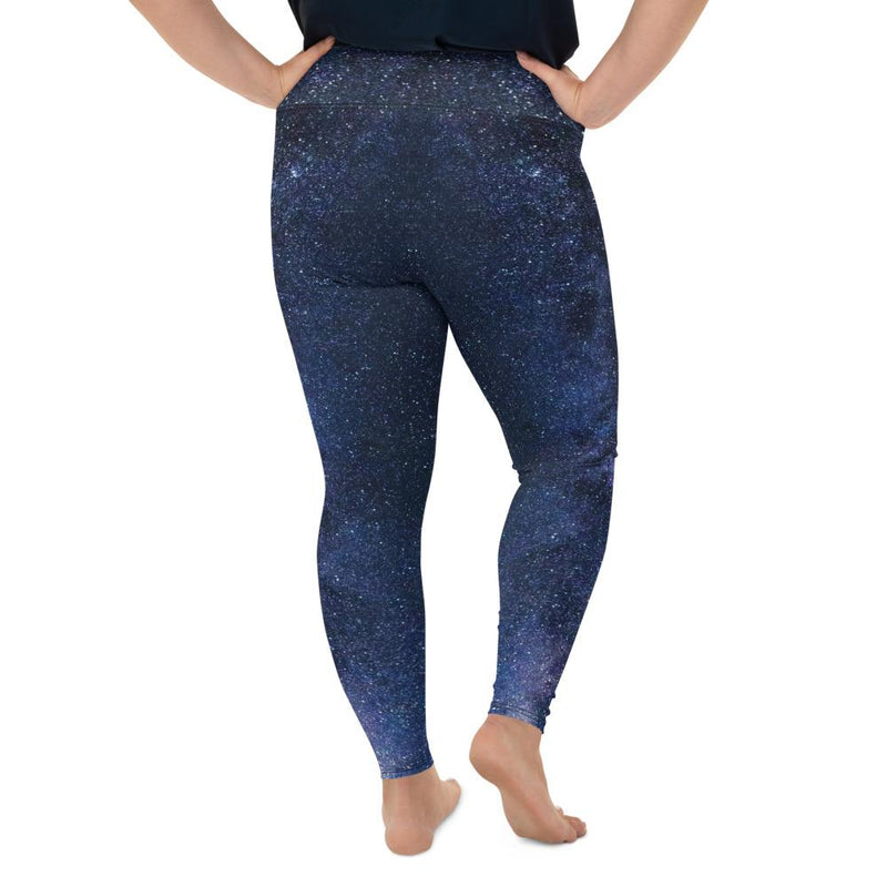 Milky Way Plus Size Leggings