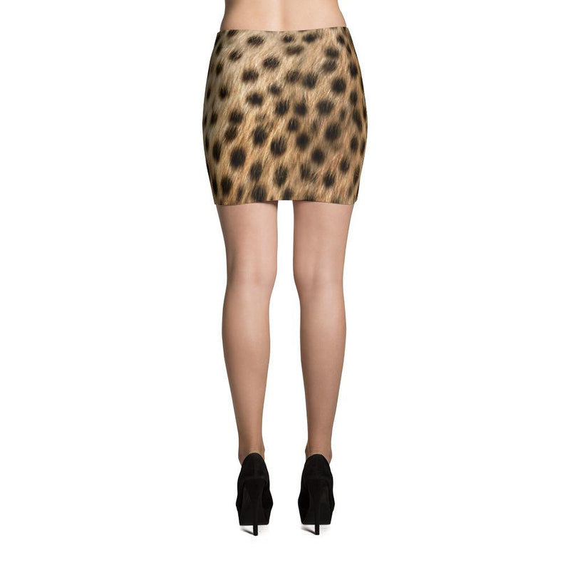 Cheetah Mini Skirt - 57 Peaks