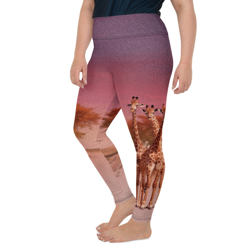 Giraffe Plus Size Leggings