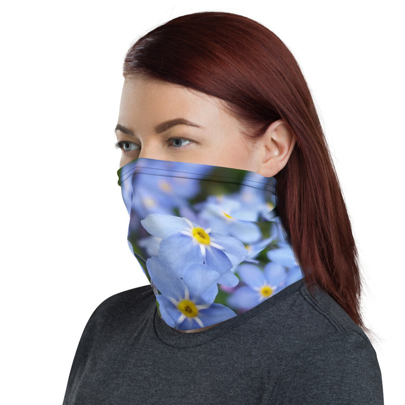Forget-Me-Not Neck Gaiter