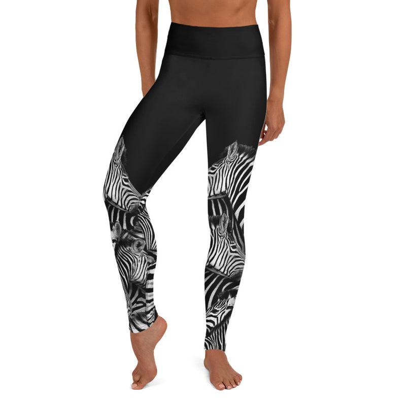 Zebra Yoga Leggings