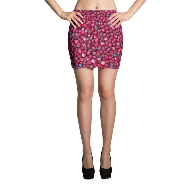 Bog Cranberry Mini Skirt