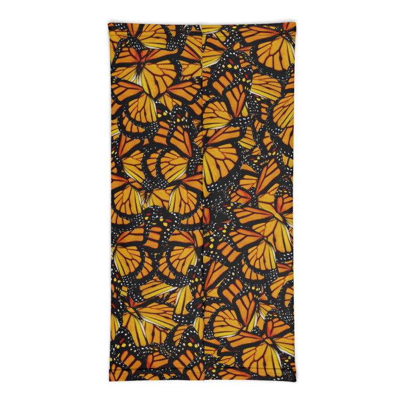 Monarch Butterfly Neck Gaiter