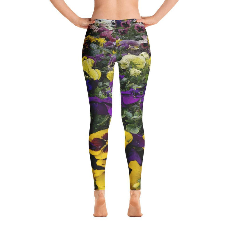 Pansies 2 Leggings