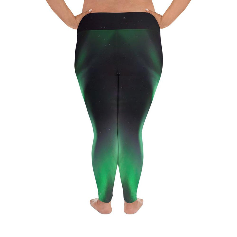Aurora Borealis Plus Size Leggings