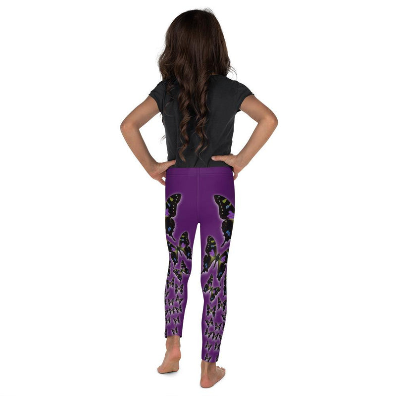 Purple Spotted Swallowtail 3 Kids' Leggings