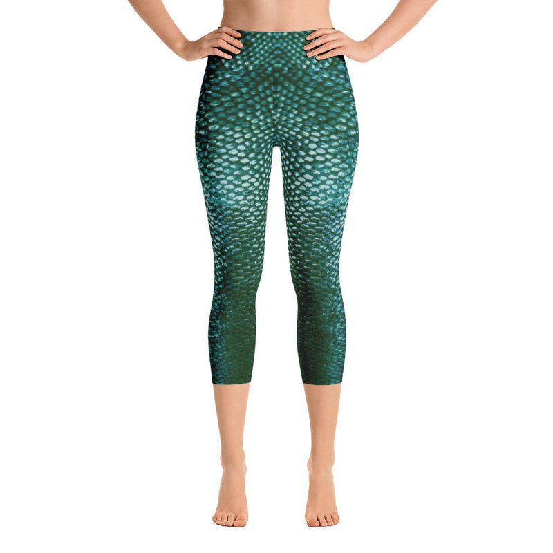Sitka Mermaid 2 Yoga Capri Leggings