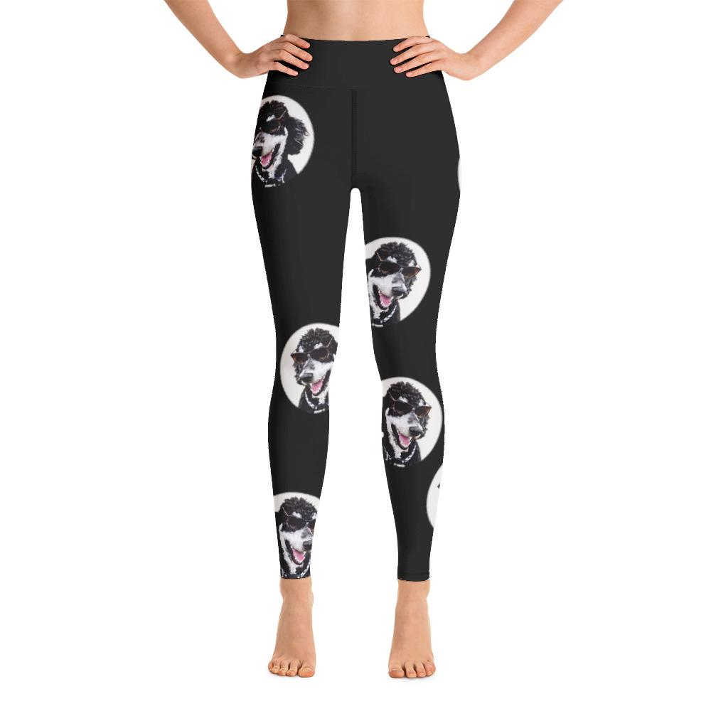 Standard Poodle Yoga Leggings