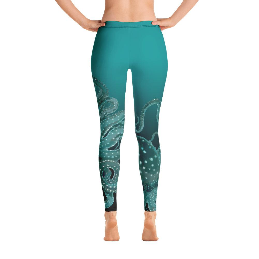 Teal Octopus Leggings