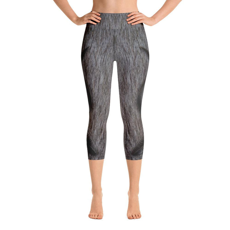 Greater Kudu Yoga Capri Leggings - 57 Peaks